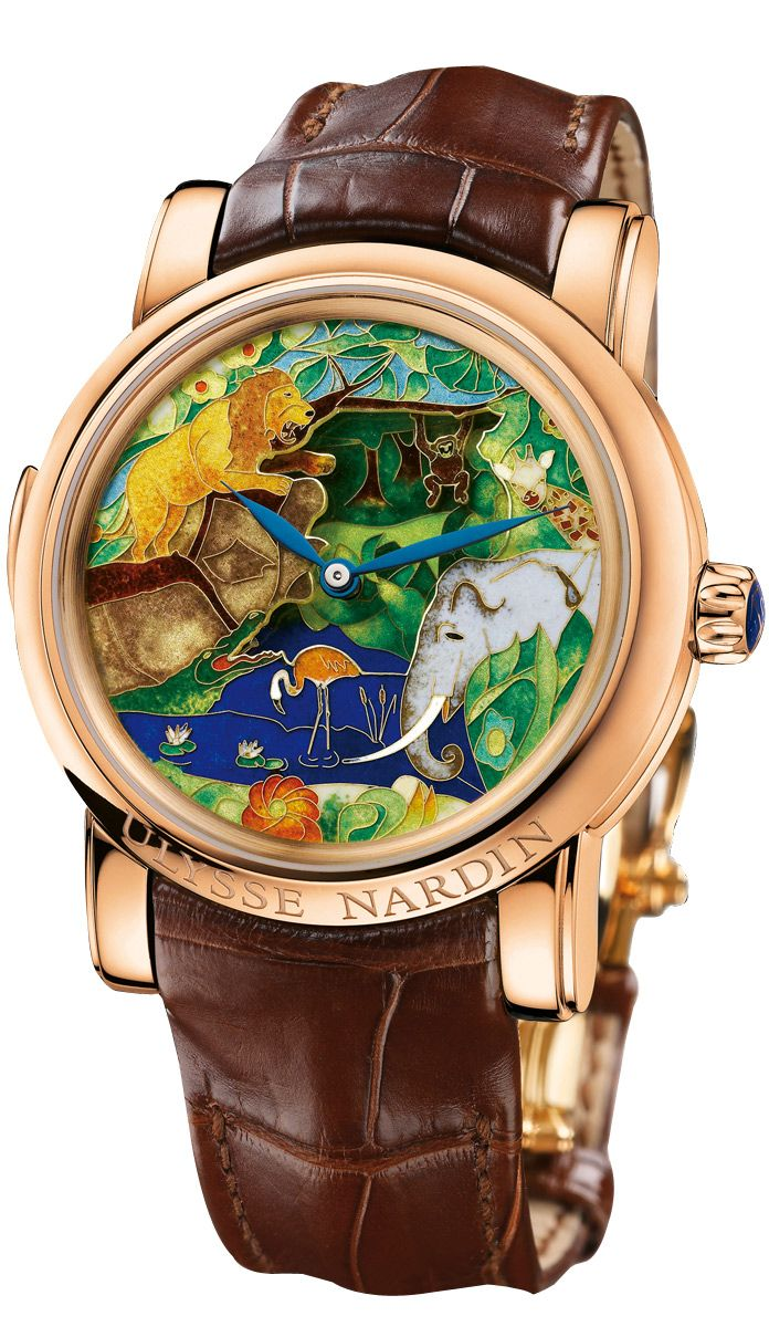 ULYSSE NARDIN Safari Jaquemarts Minute Repeater   enamel   Watches ... cf30b9c76c8