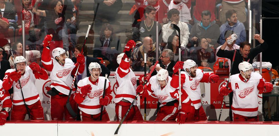 Ducks vs. Red Wings - 05/02/2013 - Detroit Red Wings - Photos