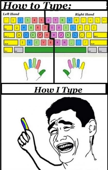 How To Type - LolSnaps