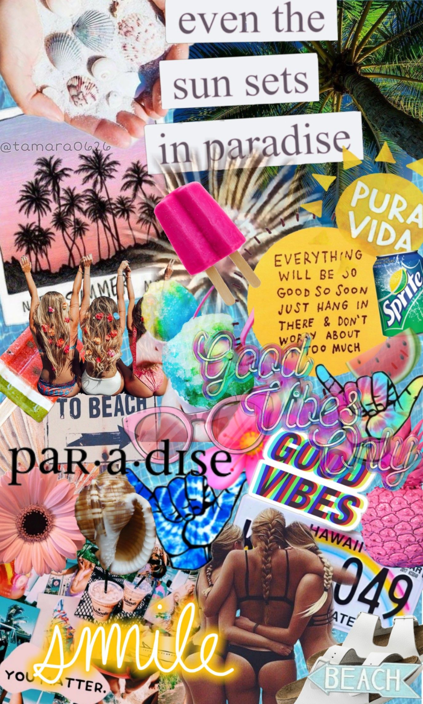 Collage Edits Vsco Vscoedits Summer In