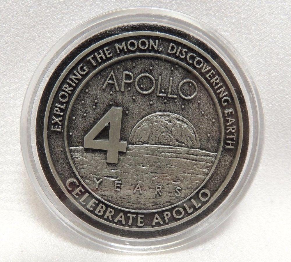 apollo 40th anniversary coin