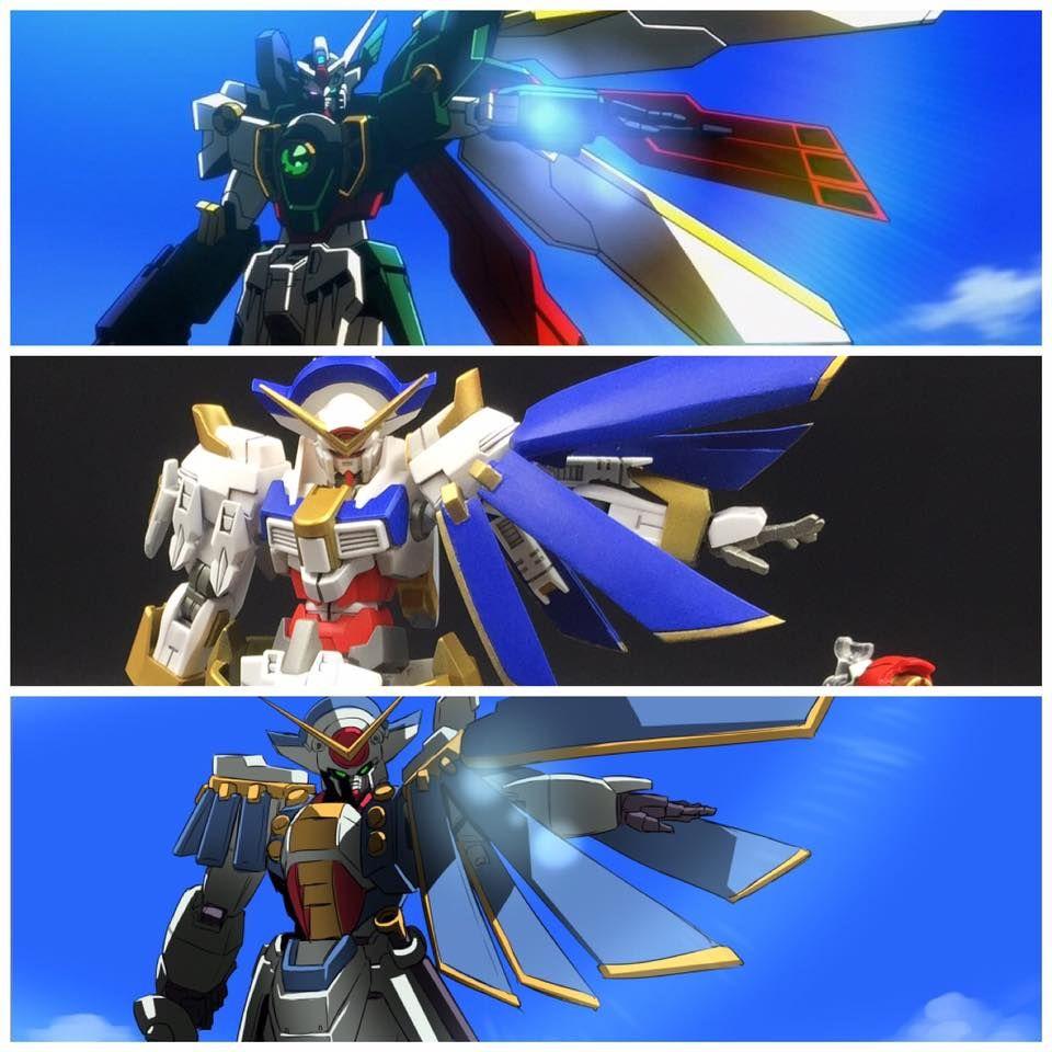 Custom Build Hg 1 144 Neo Gundam Rose Gundam Kits Collection News And Reviews Gundam Custom Build Custom Paint Jobs