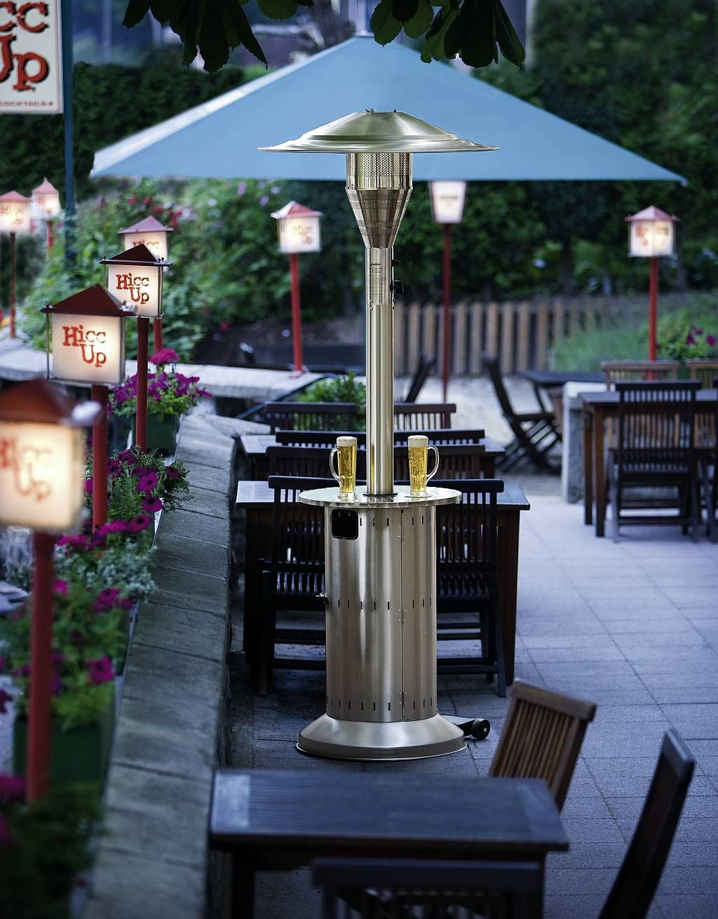 Restaurant patio heaters  Pin by Patioheaterz on Patio Heaters | Pinterest