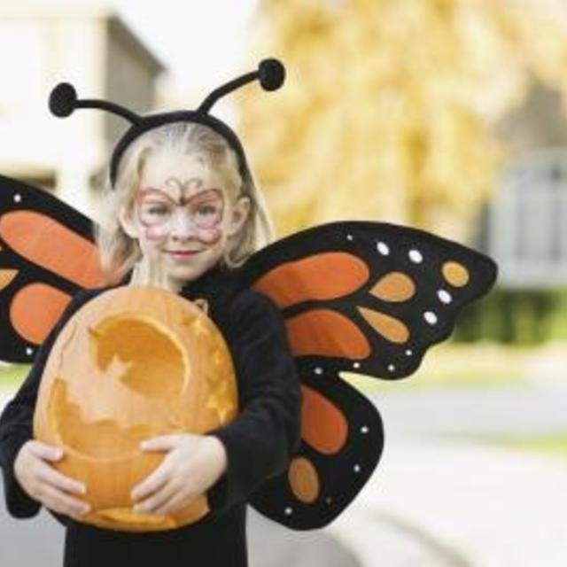 Black Butterfly Antenna-Headband for Kids Girls Boys Dress Up Costume