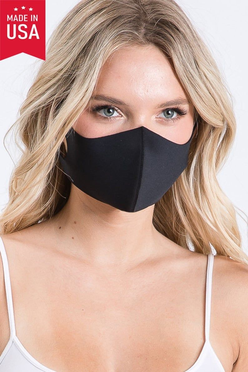 Photo of Washable Mask, Reusable Face Mask, Mask Made in USA, Face Coverings , Comfortable Mask, Adult Breathable Face Mask, Lightweight Face Mask