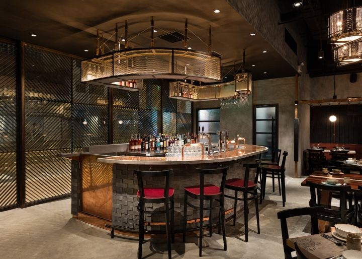 Rhoda Restaurant By Joyce Wang Studio Hong Kong Retail Design