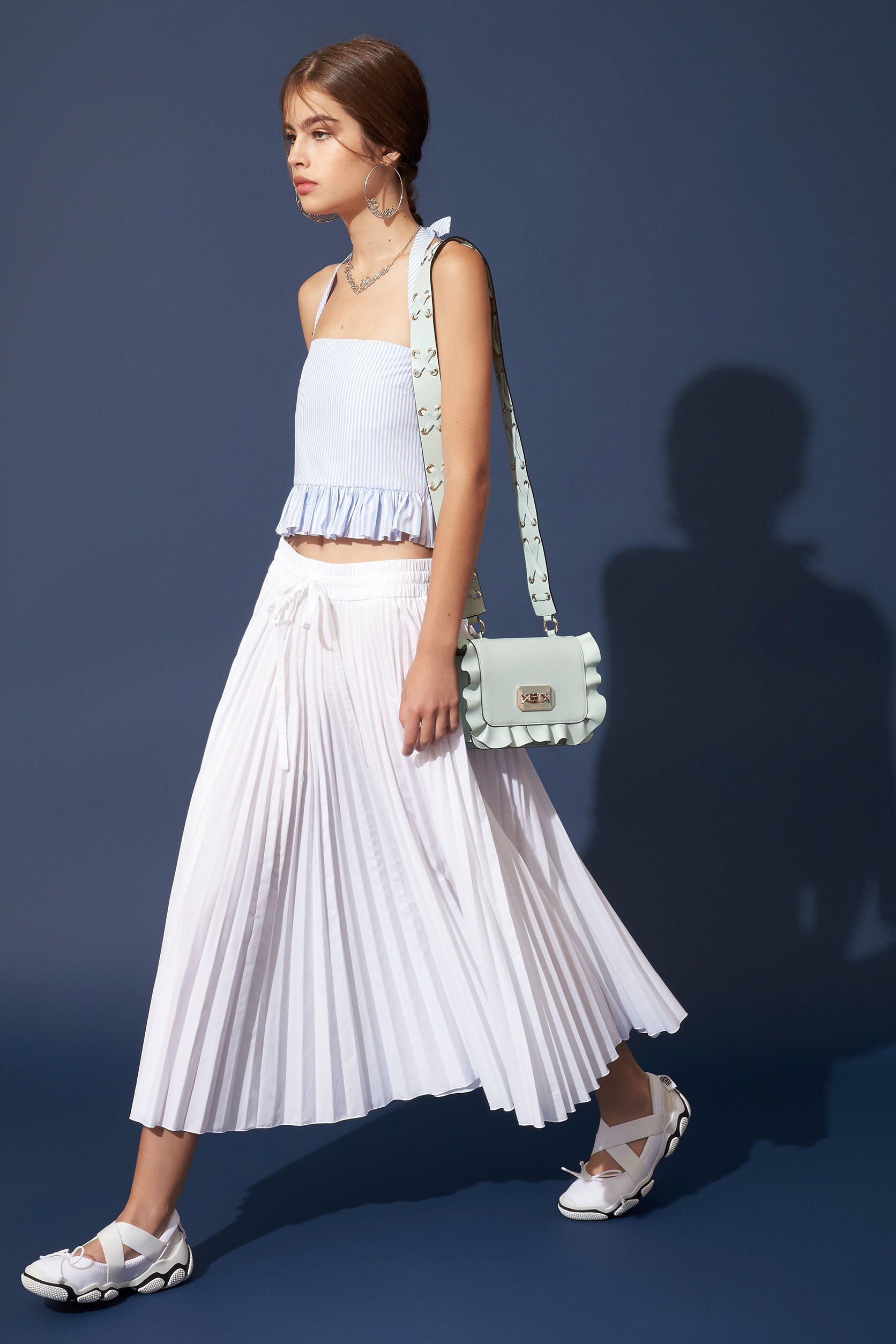 RED Valentino SpringSummer 2019 Collection – NYFW pics