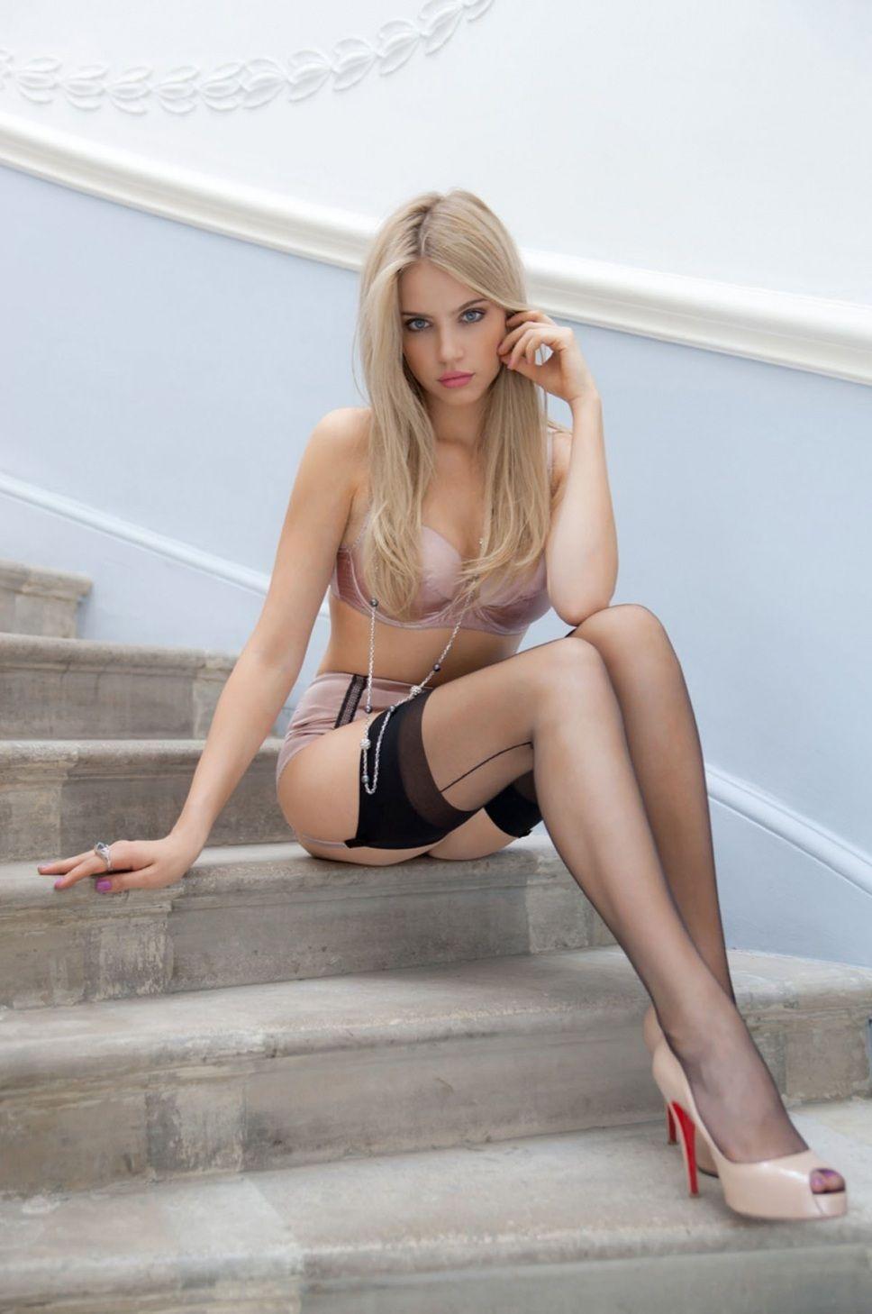 Commit Xenia tchoumitcheva lingerie message
