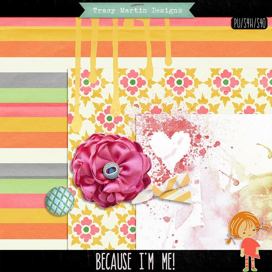 FREE Tracy Martin Designs: Oscraps Collab Hop!