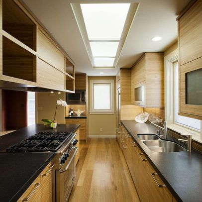Asian Home Design Pictures Remodel Decor And Ideas Galley Kitchen Remodel Galley Kitchen Design Small Galley Kitchen Designs