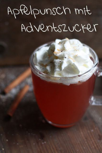 Apfelpunsch mit Adventszucker #lemonade