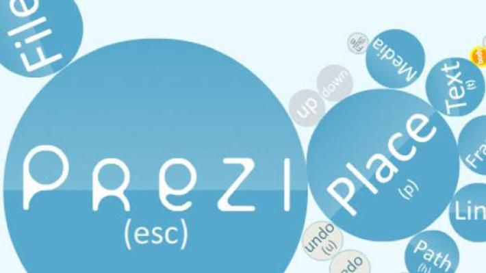 prezi is an online tool for creating presentations that break free