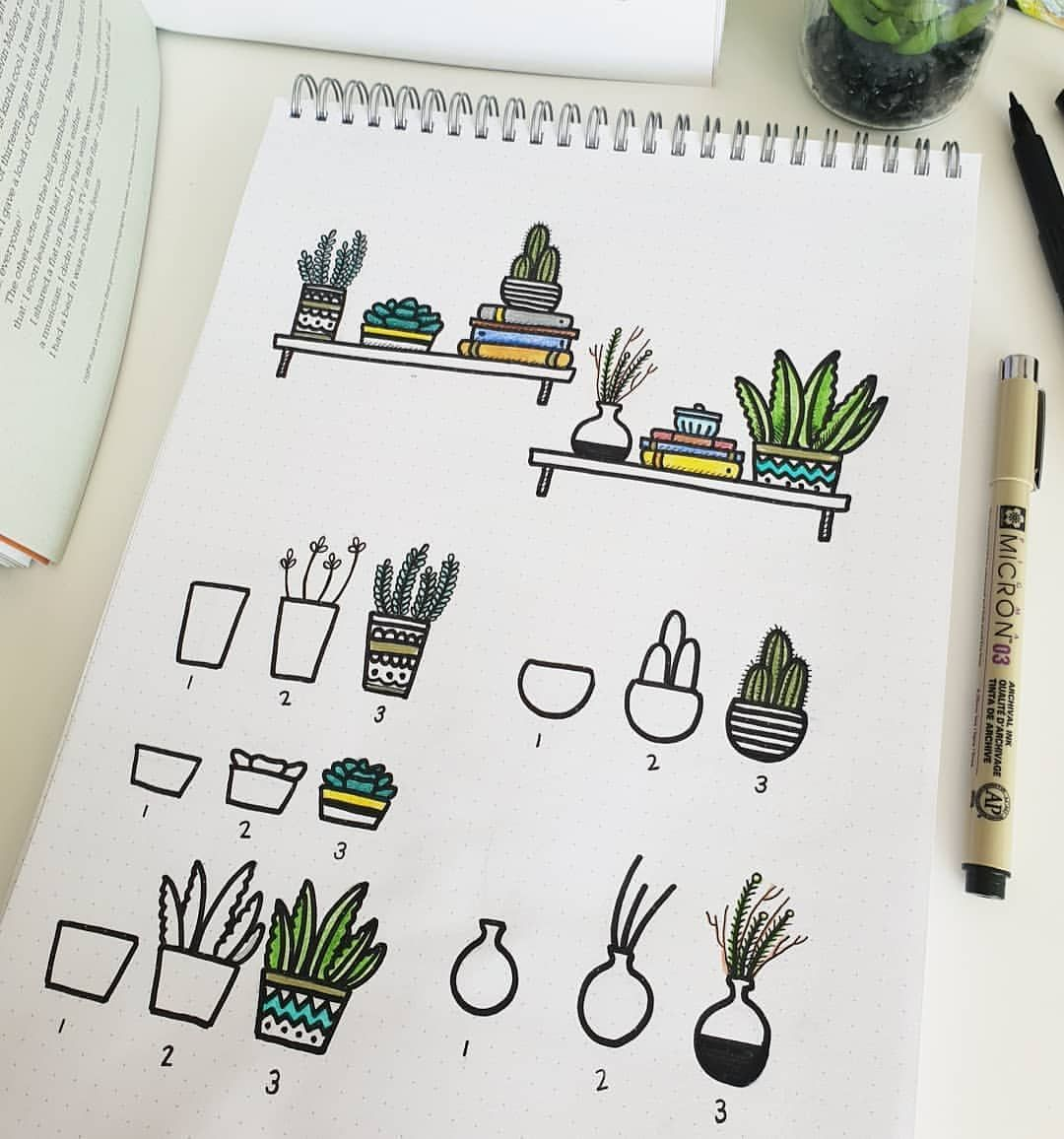 You know how I love plant doodles so much I can't stop ...