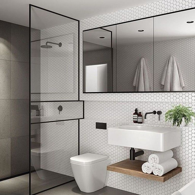 Musterfliesen Fur Kleines Bad Wand Waschbecken Elegant Bathroom Bathroom Mirror Design Minimalist Bathroom