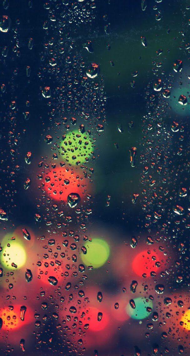 Iphone Background Latar Belakang Seni Hujan