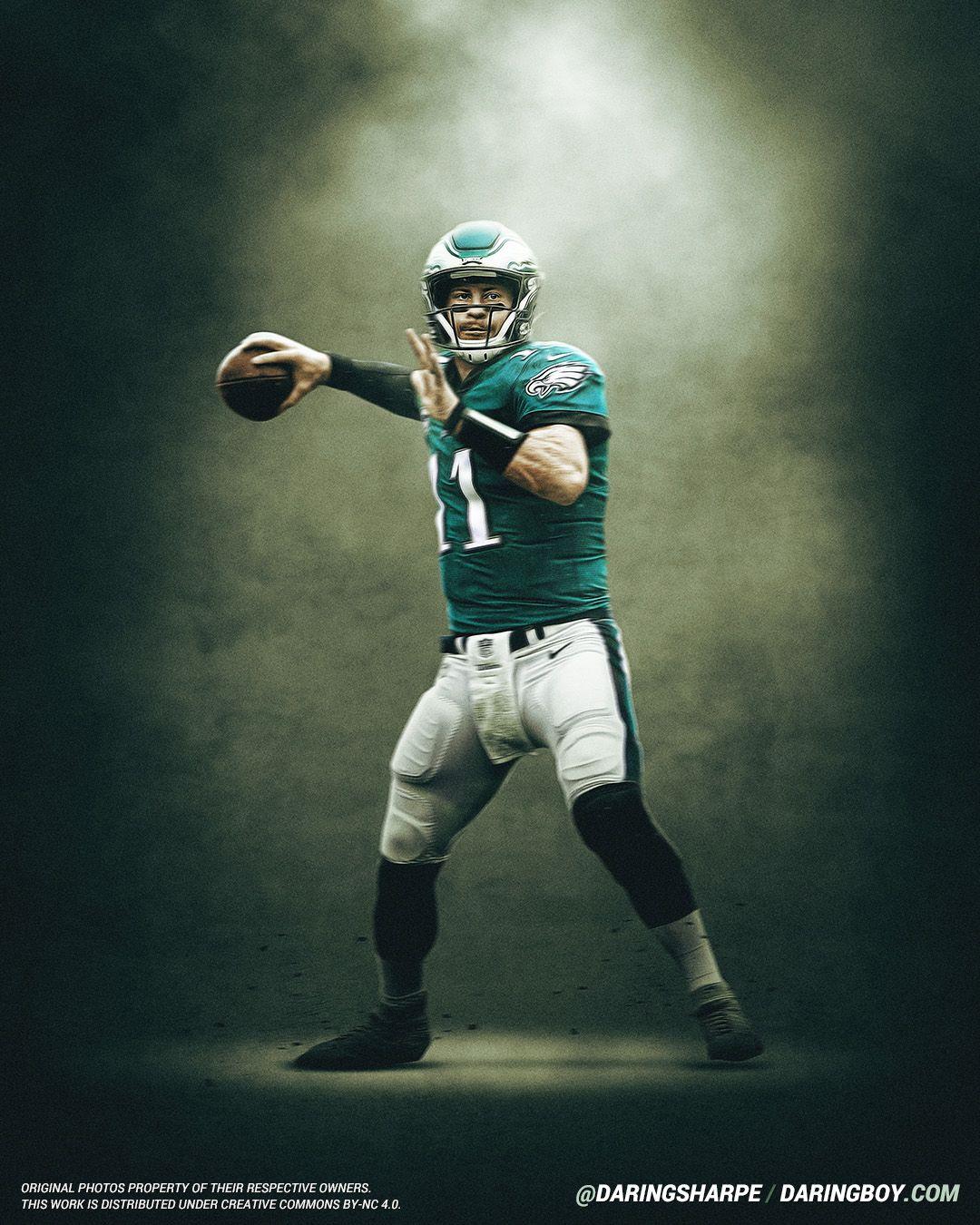 Carson Wentz Philadelphia Eagles Philadelphia Eagles Wallpaper Philadelphia Eagles Football Nfl Philadelphia Eagles