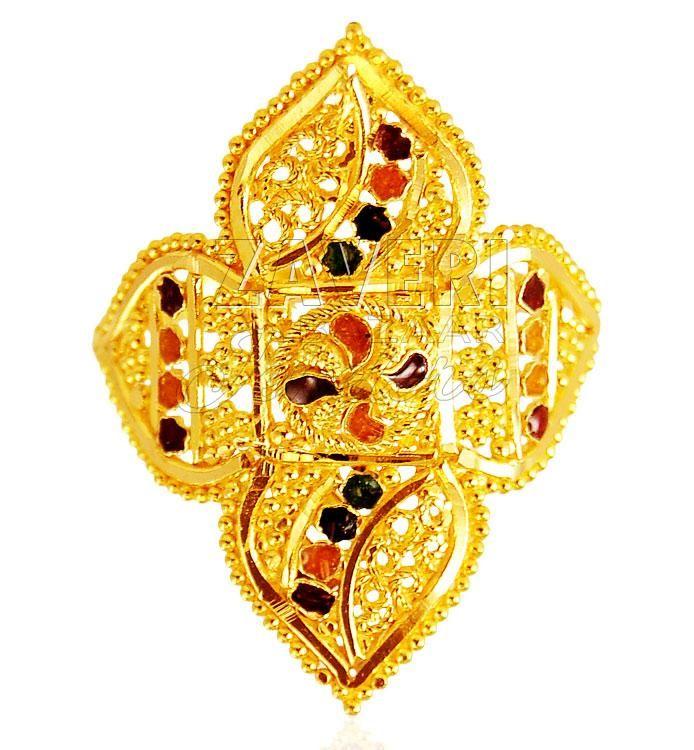 22 Karat Gold Ladies Ring | gold rings | Pinterest | Ring, Gold ...