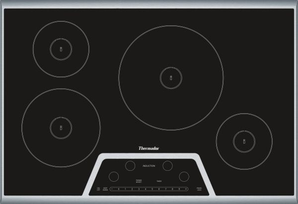 Induction Cooktop By Thermador 30 Inch Masterpiece Series Induction Cooktop Revuu Induction Cooktop Cooktop Thermador