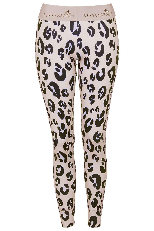 Leopard Print Leggings by adidas StellaSport - Clothing Brands - Brands | Leopard print leggings ...