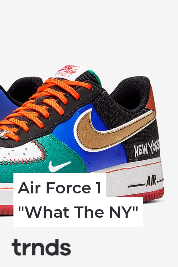 Nike Air Force 1 What The NY complete look and release date