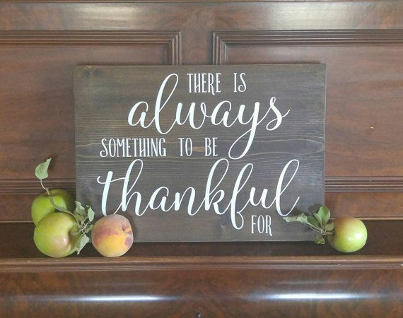 Rustic fall sign Autumn sign thankful sign by QuailandCoBoutique