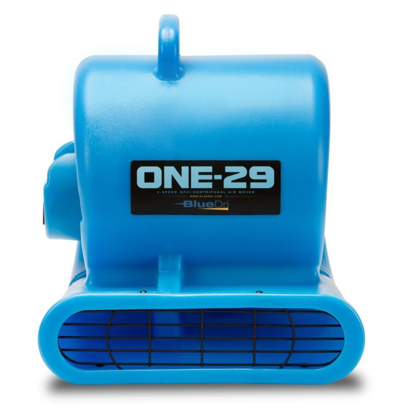 Bluedri One 29 Air Mover Carpet Dryer Floor Blower Fan High Cfm Low Amps Blue 661799730259 Ebay Blower Fans Floor Carpet Dryers Damage Restoration