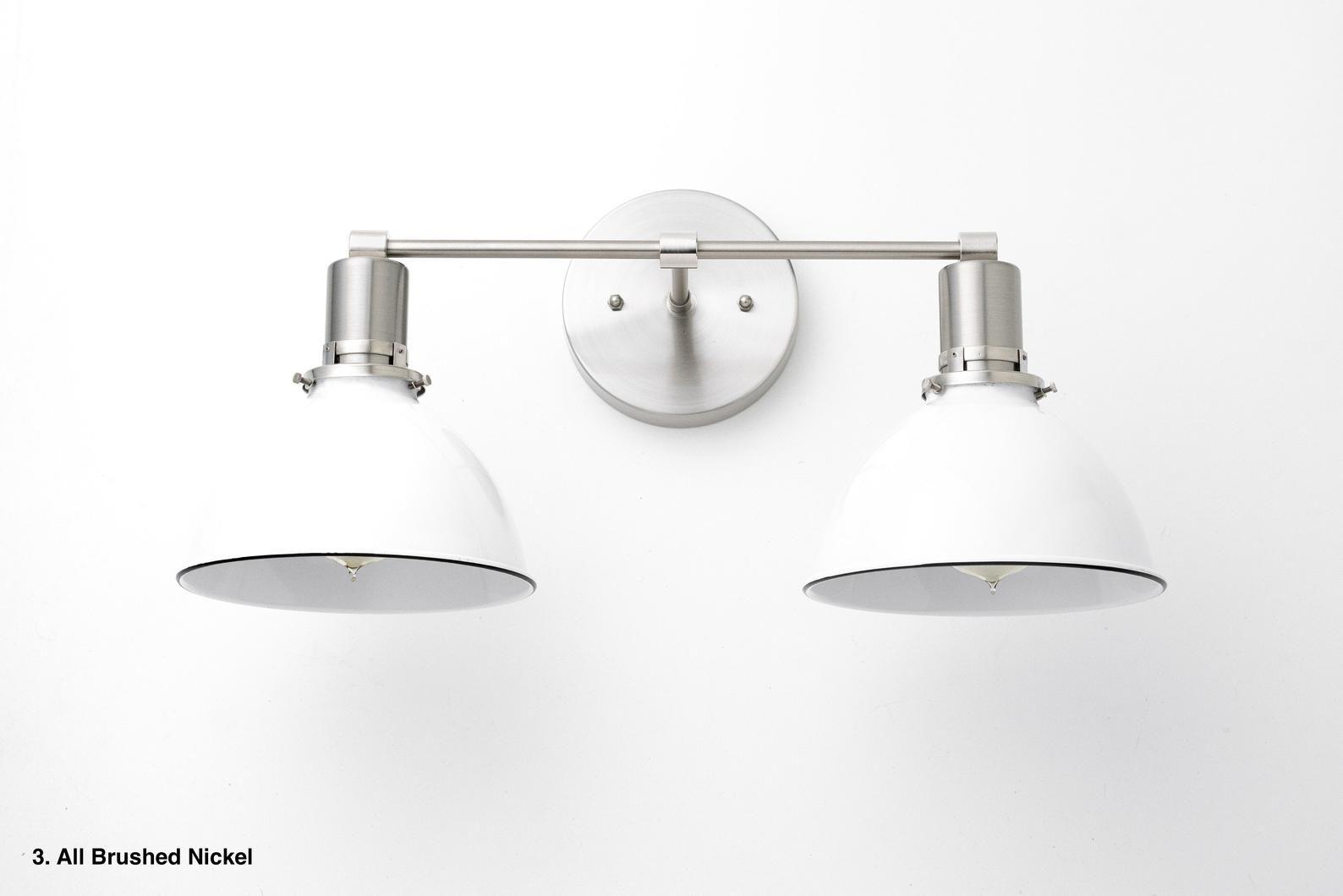 Bathroom Wall Light Industrial Vanity Light Brass Light Etsy