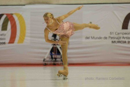 Tanja Romano - 15 times World Artistic Roller Skating Champion