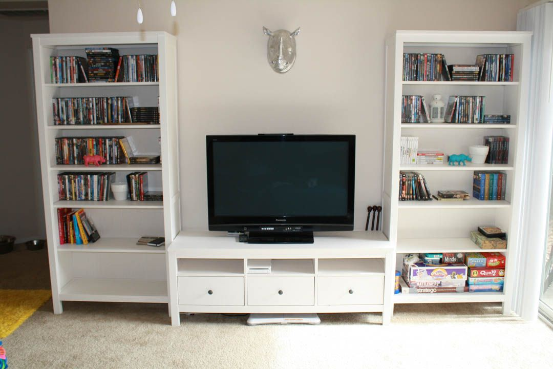 The Very Useful IKEA Hemnes Entertainment Center | Sofa and Home ...