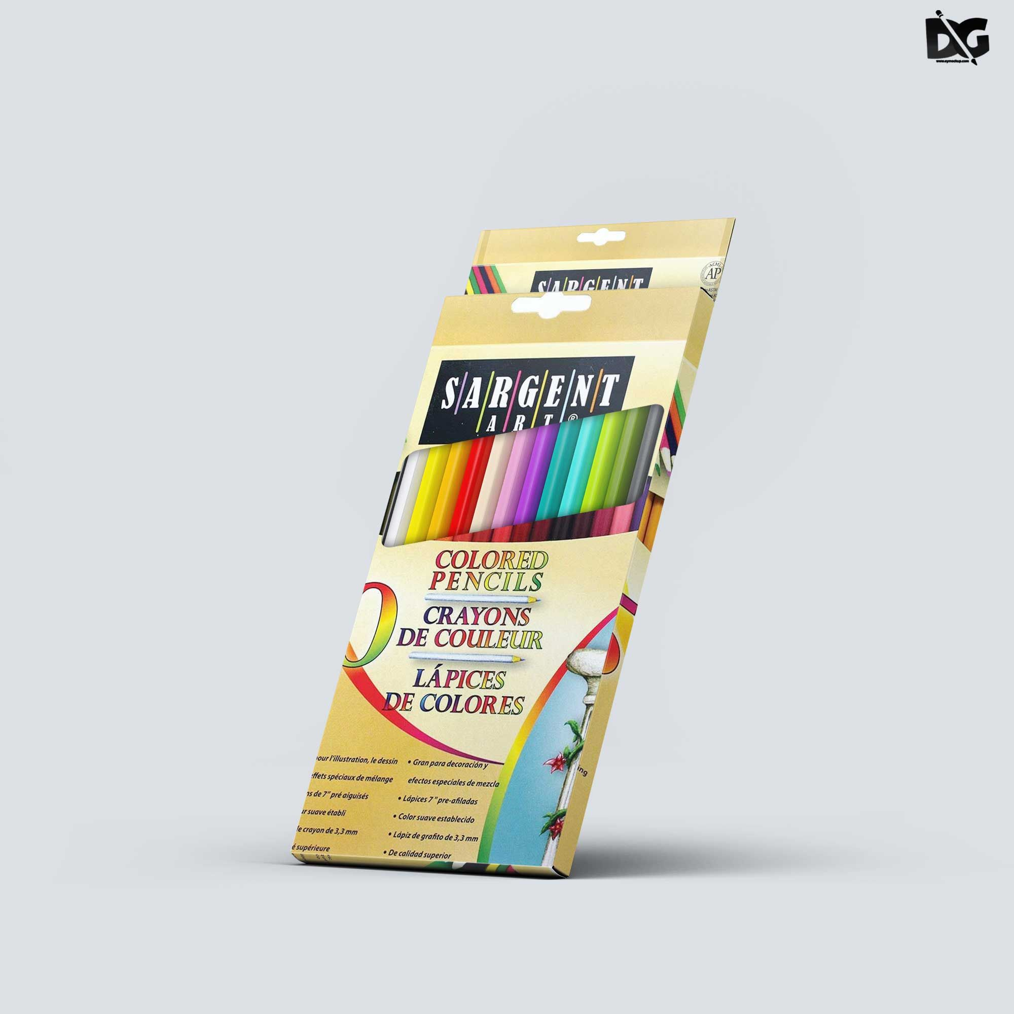 Download Free Pencil Box Label Design Mockup Designmockup Labeldesign Labeldesignmockup Labelmockup Packagingmockup Logo Design Mockup Mockup Design Label Design