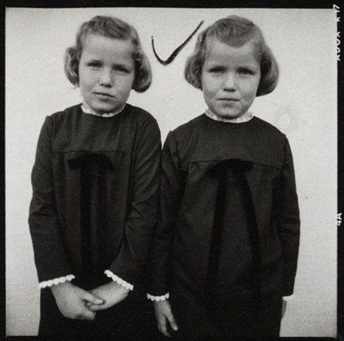 Diane Arbus Twins Series