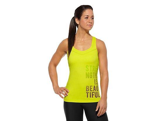 Women's Reebok CrossFit Strength is Beautiful Tank Tank Tops Z23575