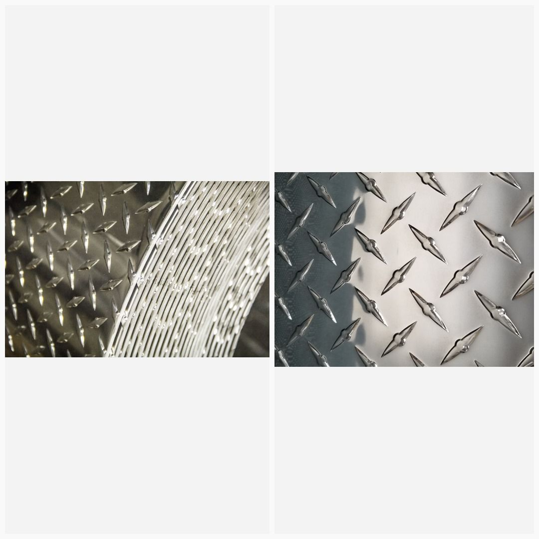 3003 Aluminum Diamond Tread Plate Sheet 0 063 X 12 X 36 In 2020 Aluminum Sheet Aluminium Sheet