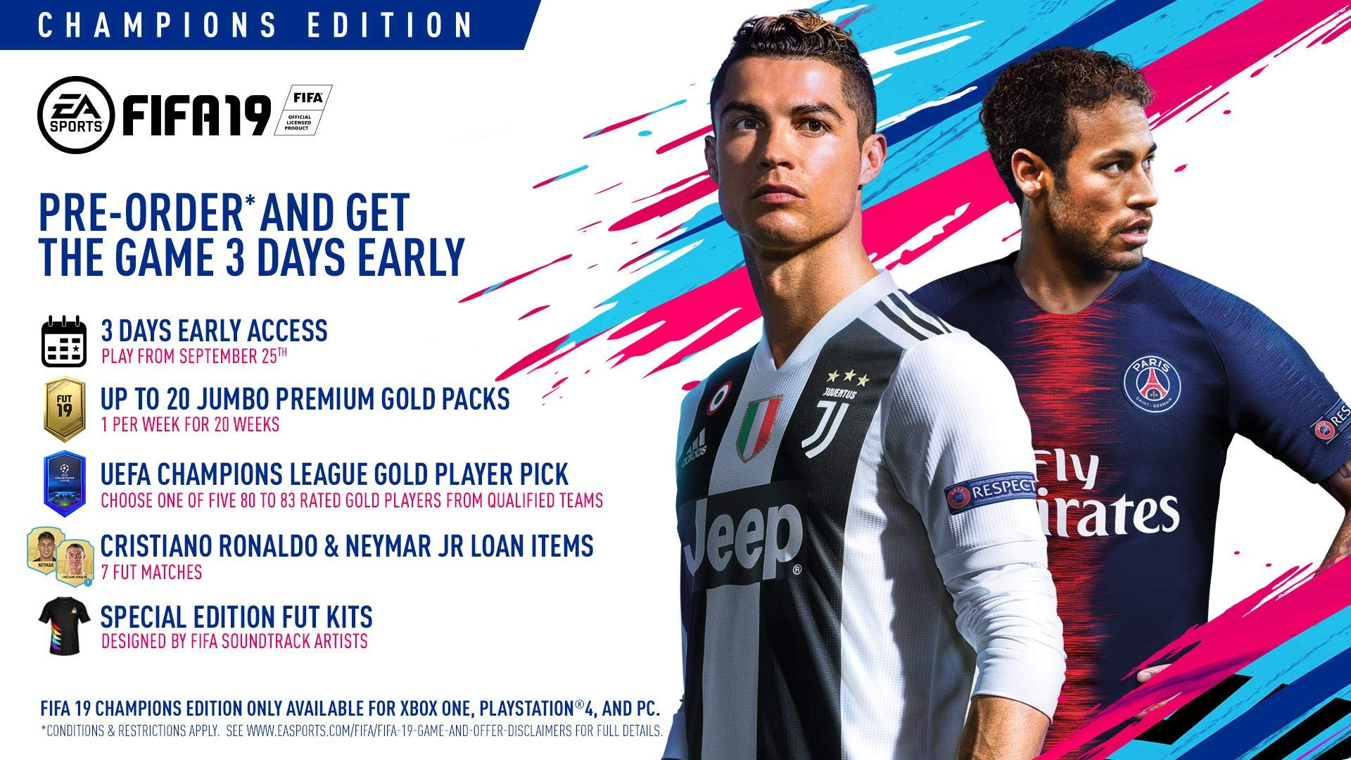 Fifa 19 Champions Edition Playstation 4 Continuously The Product At The Image Link This Is An Affiliate Link Premierlea Cristiano Ronaldo Fifa Ronaldo