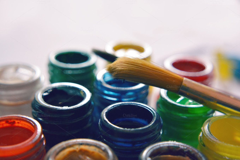 Water color bottles by K_Srinivas on Creative Market