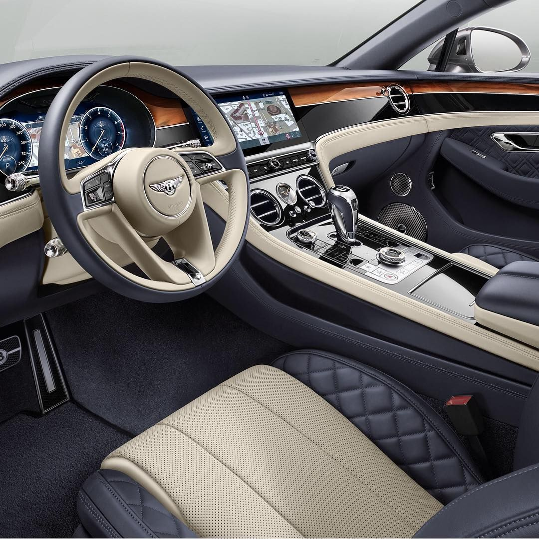 Bentley Luxury Car Inside: Bentley Continental Interior..