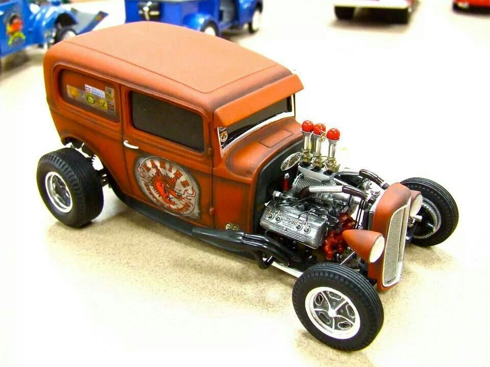 32 Ford Vicky Hot Rod | Scale Model Cars & Trucks | Pinterest ...