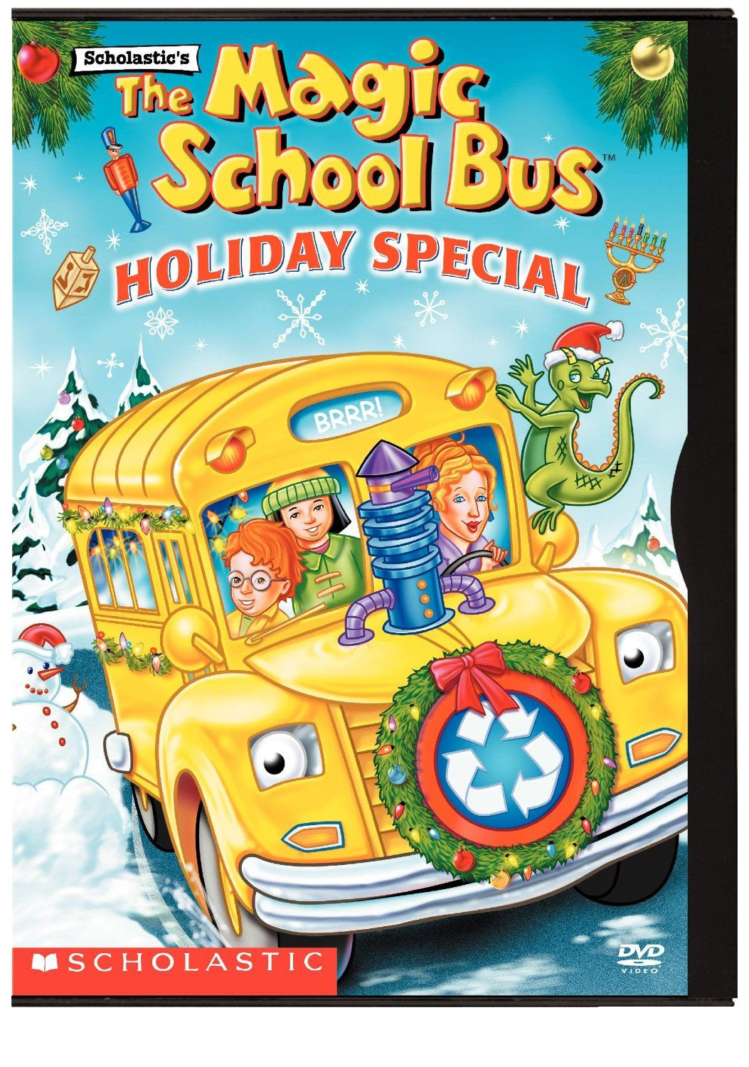 The Magic School Bus Holiday Special For A Book Themed Christmas
