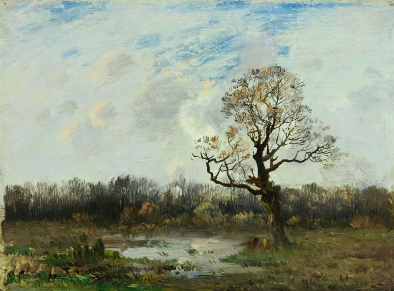ANTONÍN CHITTUSSI (1847-1891) Landscape Krajina