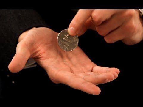 Magic Coin Tricks Revealed: Classic Palm Coin Magic Trick | Coin tricks, Magic  tricks, Coin magic tricks