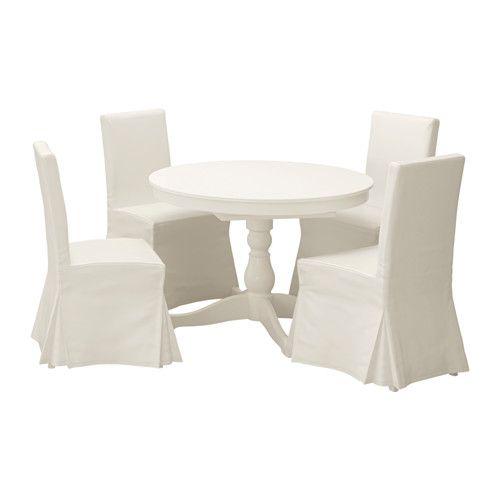 INGATORP / HENRIKSDAL Tisch und 4 Stühle IKEA Ein verdeckter ...