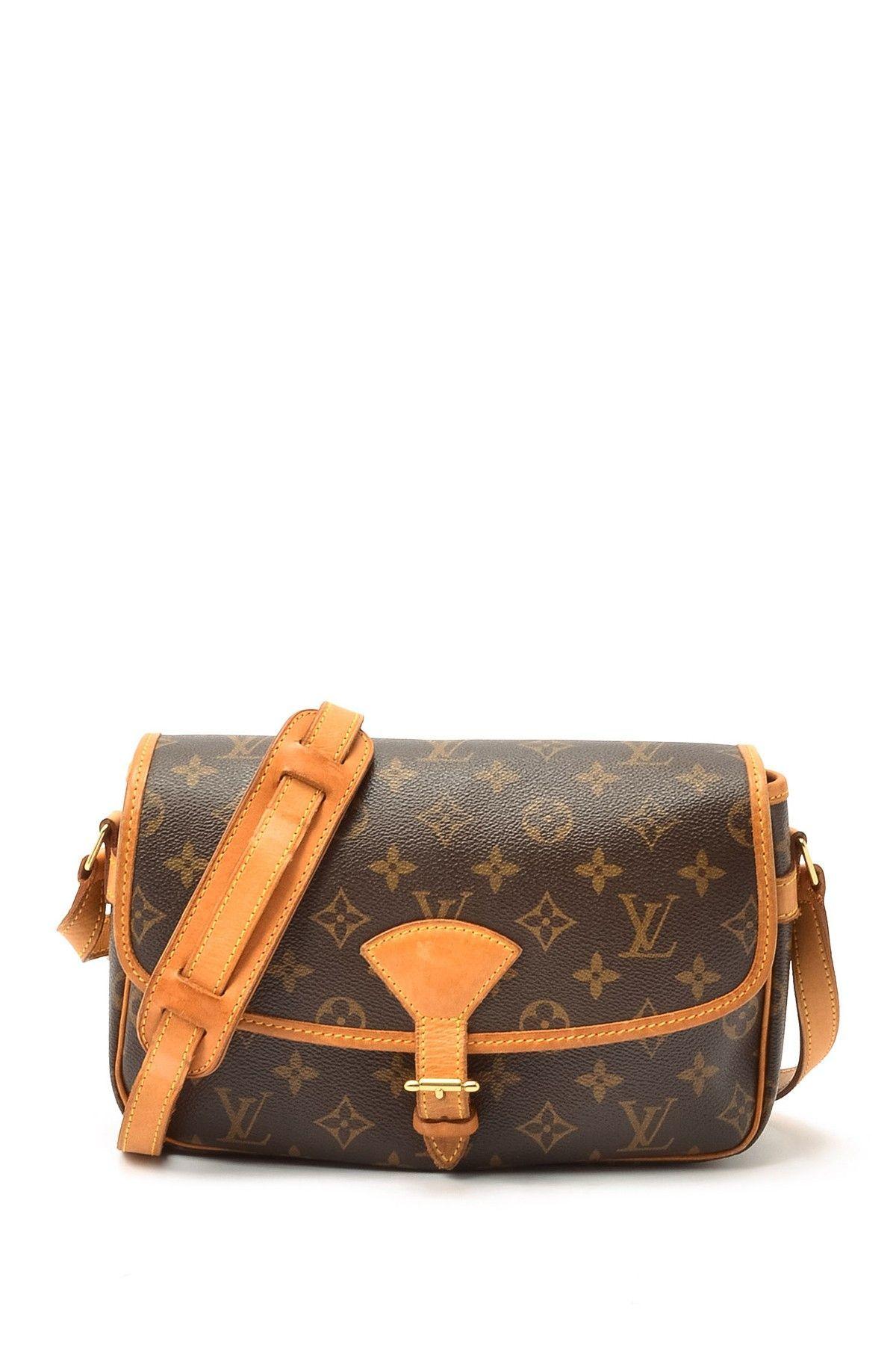 8fc8613fac13 Vintage Louis Vuitton Leather Sologne Crossbody Bag on HauteLook ...