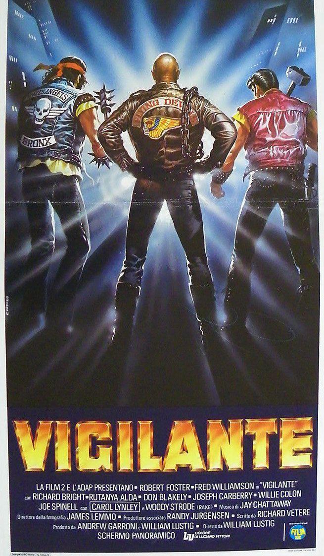 """""""Vigilante"""" (1982) movie poster"""