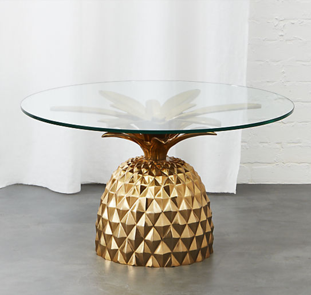 Pineapple Side Table | Fred Segal X CB2