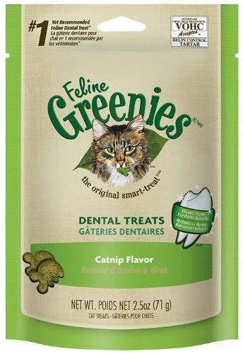 Feline Greenies Dental Treats For Cats Catnip Flavor 25 Oz You Can Find Out More Details At The Link Of The Image Amazon With Images Dental Treats Cat Treats Greenies