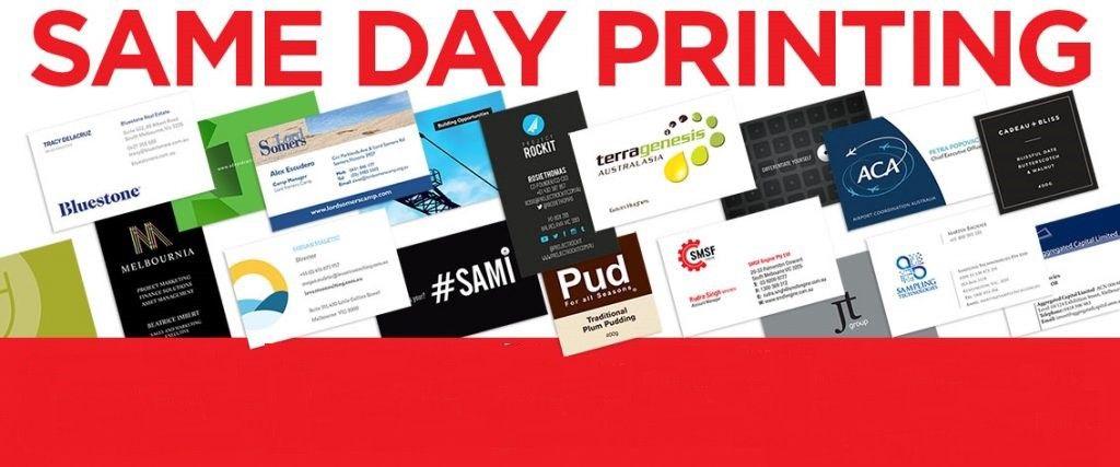 Same Day Printing Printing Business Cards Premium Business Cards Unique Business Cards