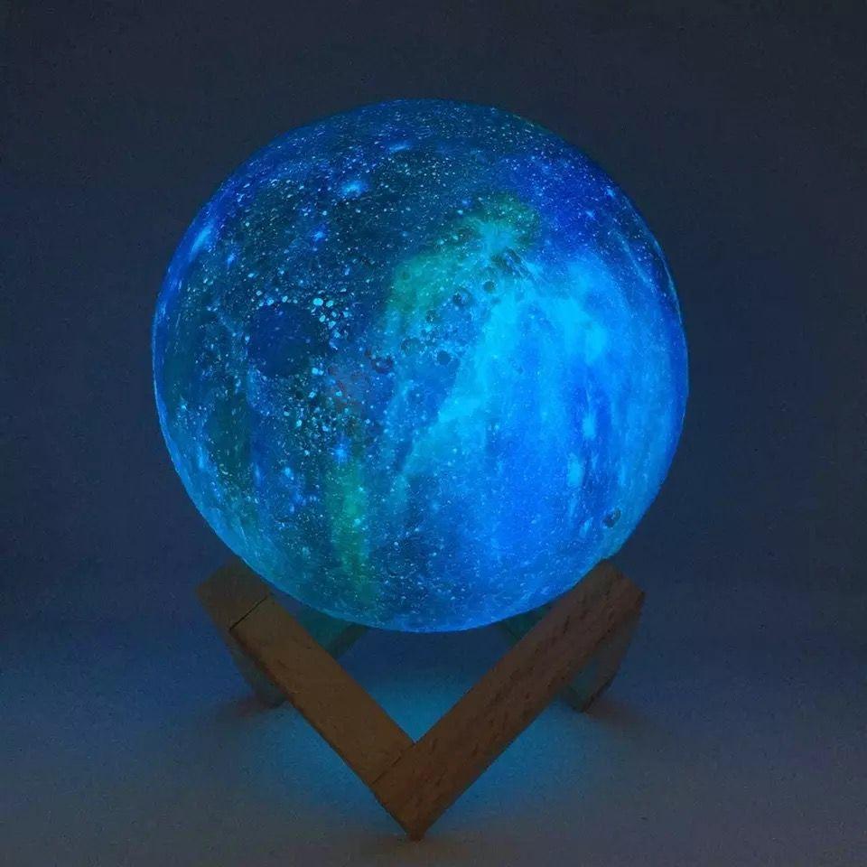 On Sale 3D Printed Moon Light Lamp Decor Room Light Nightlight