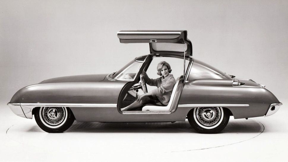 Ford Built A Gullwing Sports Car In 1962 Concept Cars Ford Car