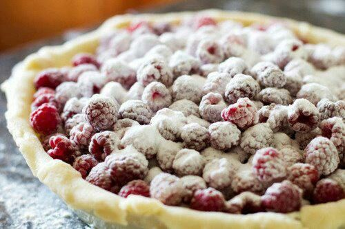 food, raspberry, and delicious image