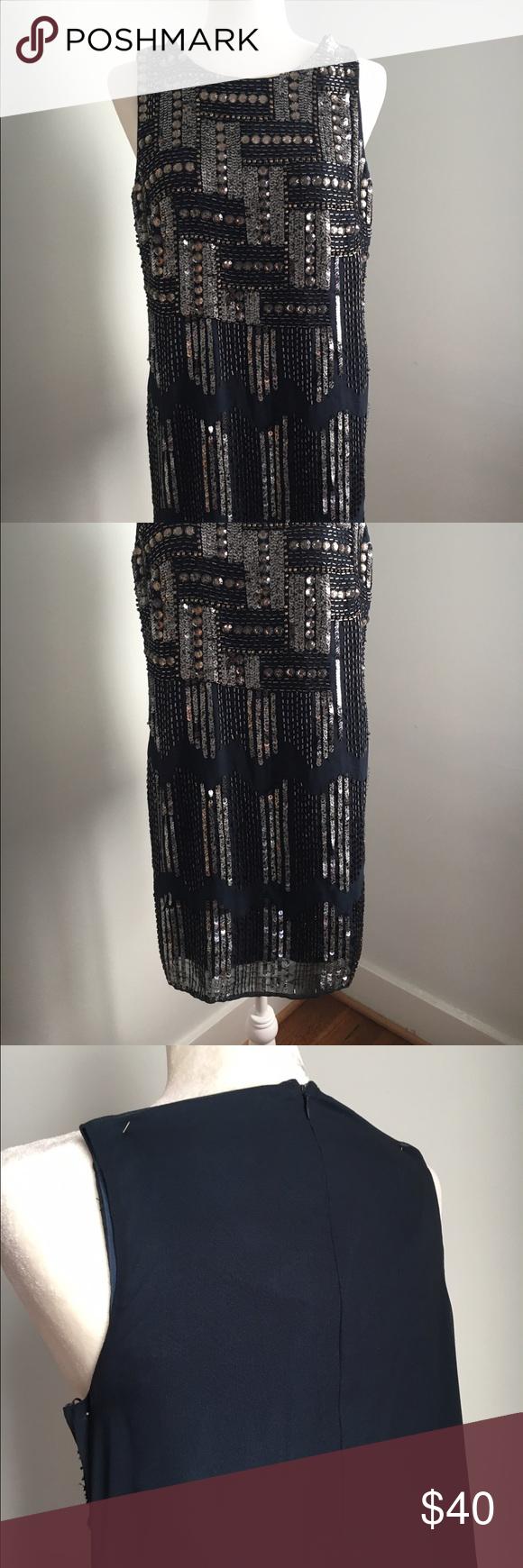 Gracia sparkling mini dress Decorations only on front side. Back closure. Gracia Dresses Mini